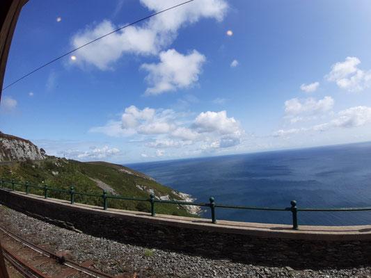 Mit der elektrischen Eisenbahn weiter Richtung Ramsey