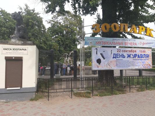 Eingang zum Zoo, Kaliningrad