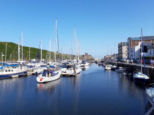 Peel Hafen und Schloss