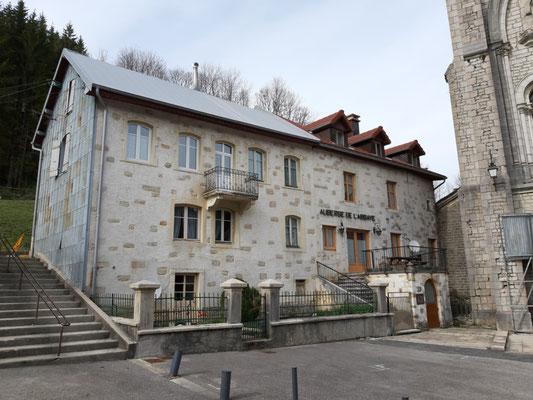 das ehemalige Gasthaus der Familie Pourchet