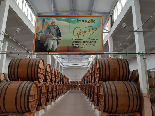 In der Kvint-Cognacfabrik