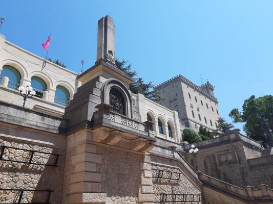 Blick zum Palazzo Publico