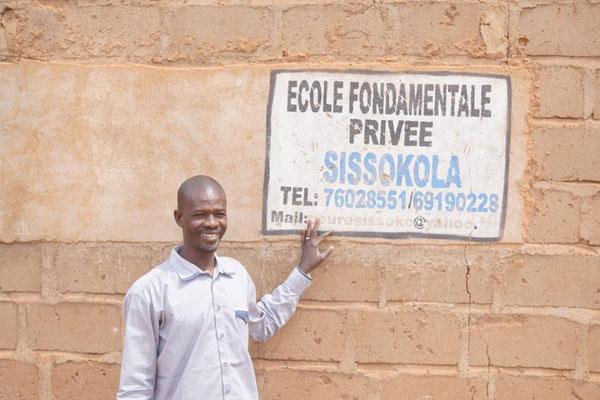Boureima, Reiseführer und Gründer der Schule