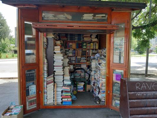 Buchladen in Skopje