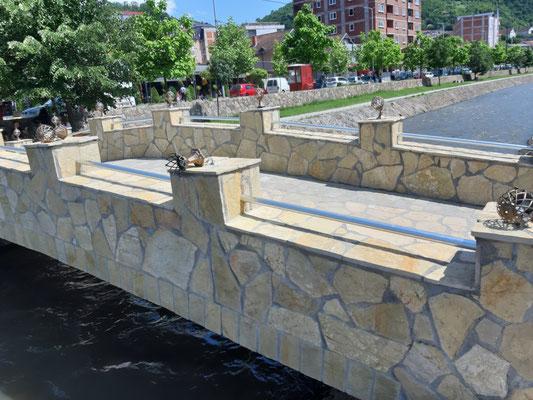 neue Brücke in Kacanik