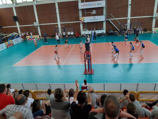Volleyball Island Montenegro der Damen