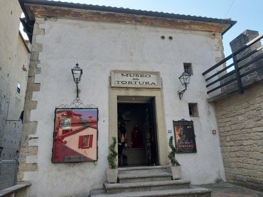 Das Foltermuseum auf dem Monte Titano