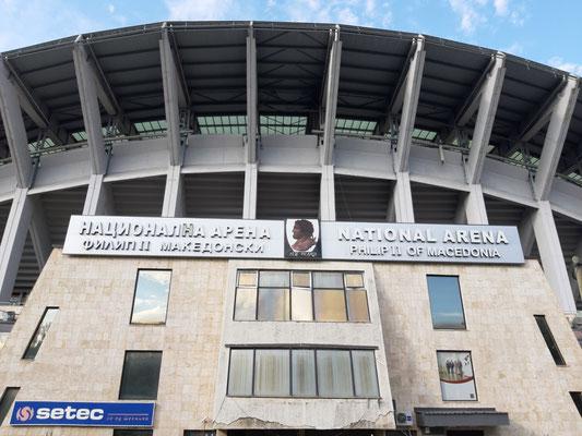 Nationalstadion von Nordmazedonien