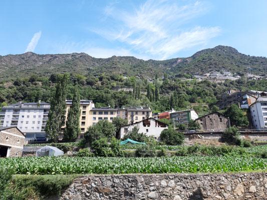 Die andere Seite von Andorra la Vella