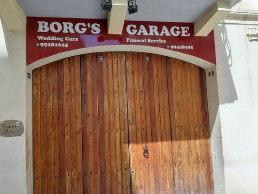 Borgs Garage in Sliema