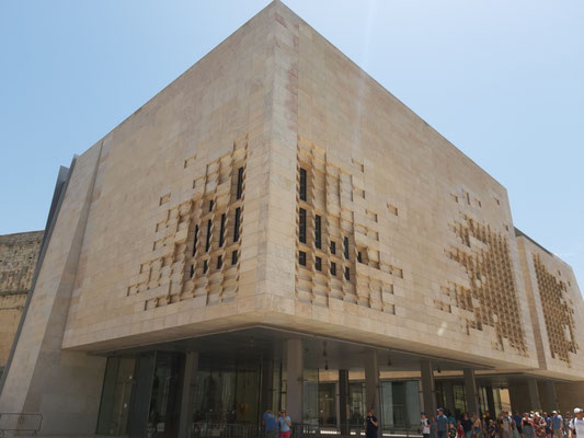 Neues Parlament, Valletta