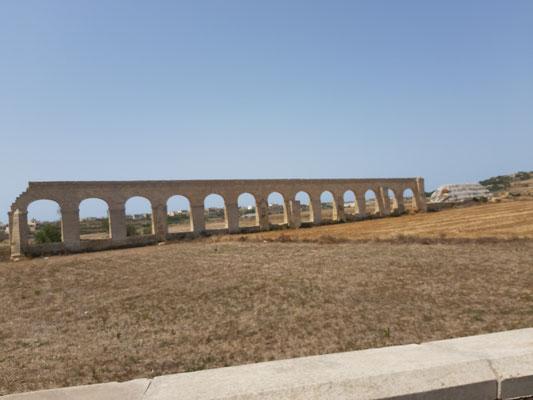 Aquädukt auf Gozo