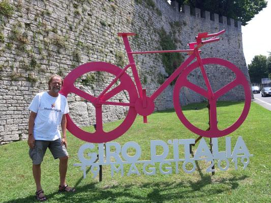Auch der Giro war hier