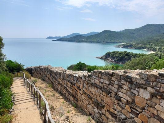 In Stageira, dem Geburtsort von Aristoteles