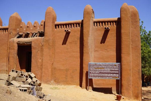 der alte Königspalast von Segu