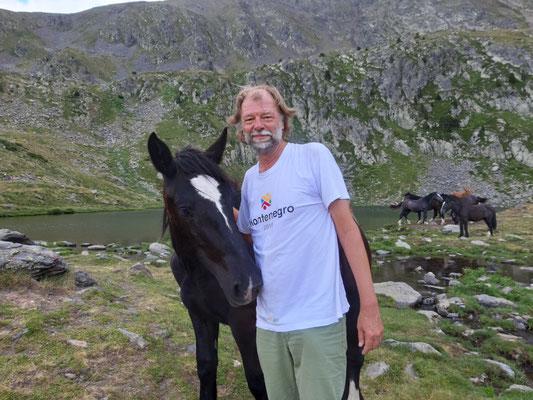 Treffen beim Wandern im Sorteny Nationalpark