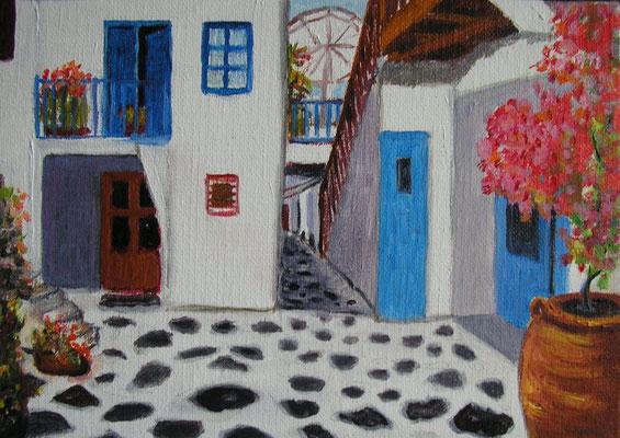 Maison grecque 2 - 22x14