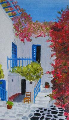 Maison grecque 1 - 22x14