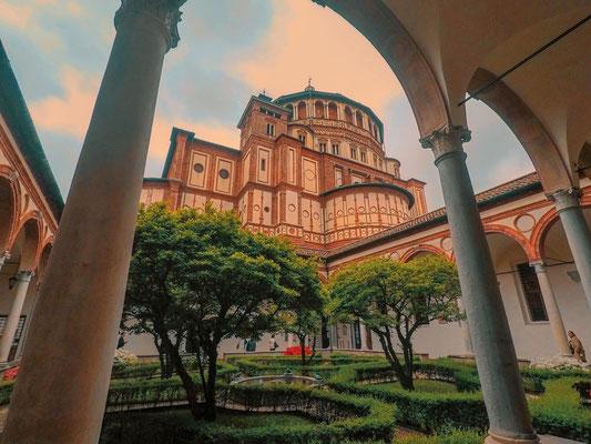 Kirche Santa Maria delle Grazie Mailand