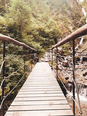 Brücken Eifersbacher Wasserfall