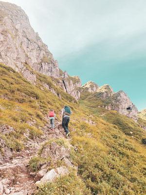 Wanderweg am Kitzbüheler Horn
