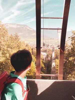 Bergbahn zur Harschbichl Station