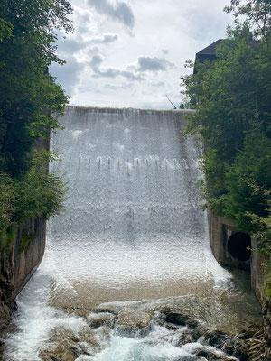 Wasserfall Klamm