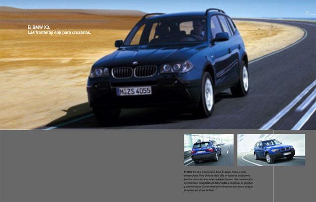 The BMWX3. Grenzen sind da, um sie zu überschreiten. Mit