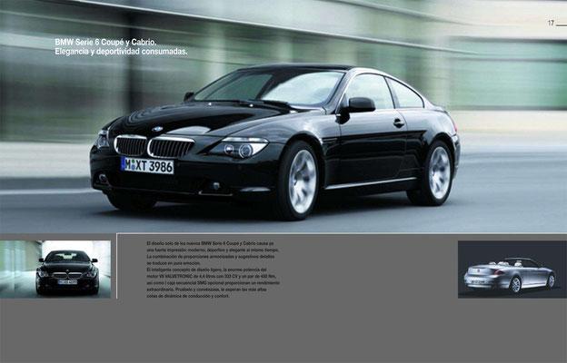 Das BMW 6er Coupé und Cabrio. Eleganz und Sportlichkeit in Vollendung.