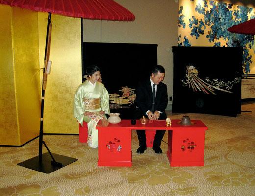 2013年パレスホテル東京初釜 30日準備の模様