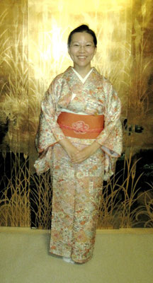 川上雅櫻 小紋