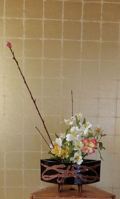水谷雅由 花桃 アストロメリ