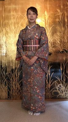 公恵さんのは亜紀さんが結びました