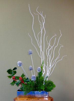 塩谷珠理 白塗り 柊 松ぼっくり カイヅカイブキ