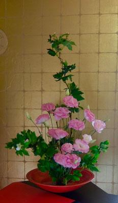 水谷雅由  木苺 トルコ桔梗 バラ