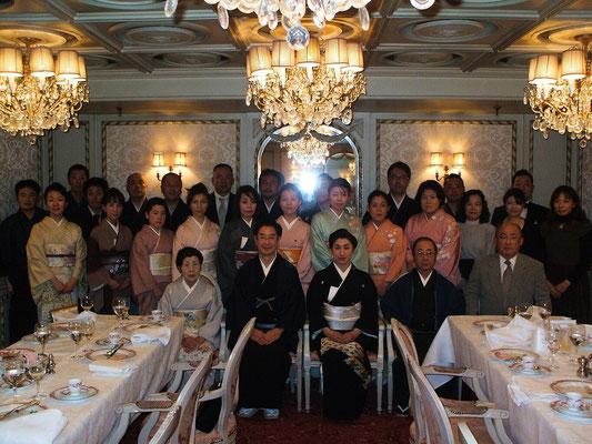創流10周年 銀座マキシムドパリにて(2010年)