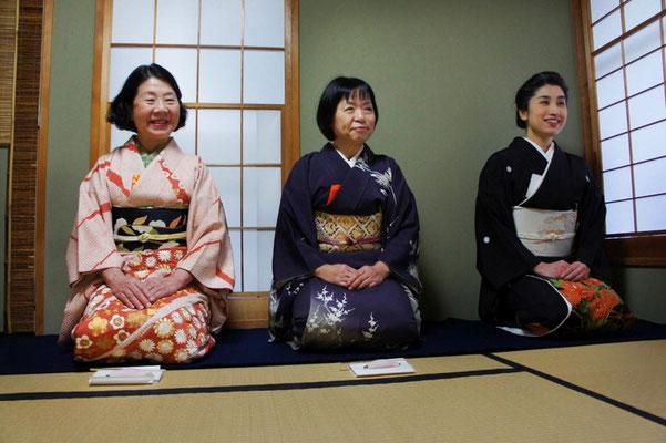 中島さん、加藤さん、雅由(大野 暁撮影)