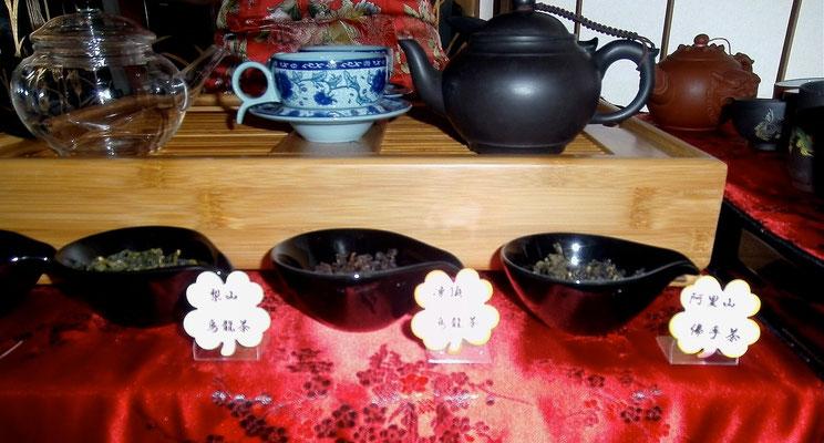 右端 阿里山佛手茶