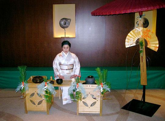 2013年京王プラザーホテル初釜 大晦日準備の模様