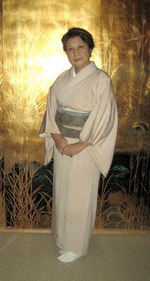 前田慶子 小紋