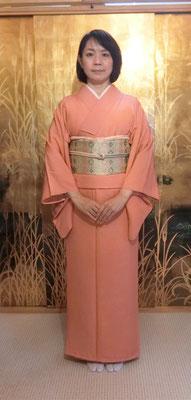 麻実さんは公恵さんが結びました。