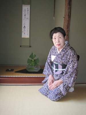 2011年7月16日サロン岡田ヤス子