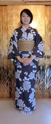 麻実さんのは清子さんが結びました。