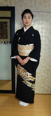 主宰 水谷雅由 黒留袖