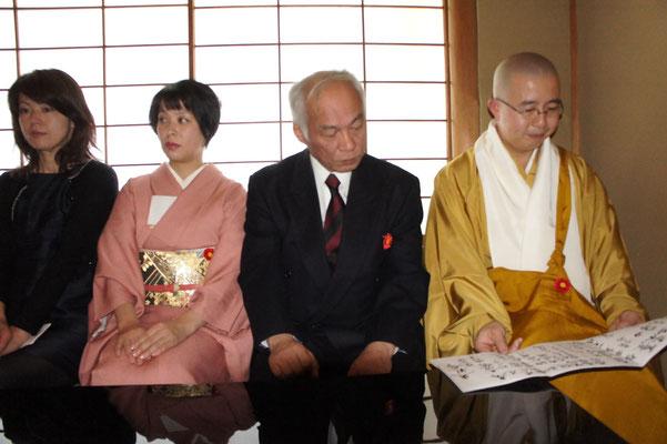中央は川上雅櫻の御父様