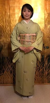 麻実さんは清子さんが結びました。