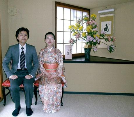 川上御夫妻