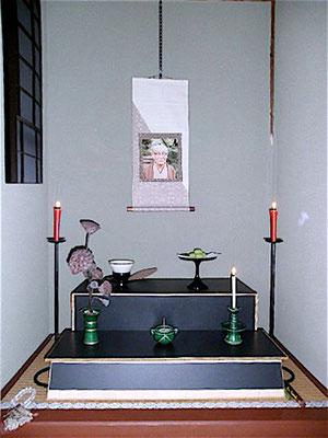 茶道雅流流祖祭壇