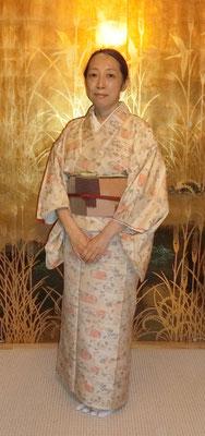 亜紀さんのは麻実さんが結びました。