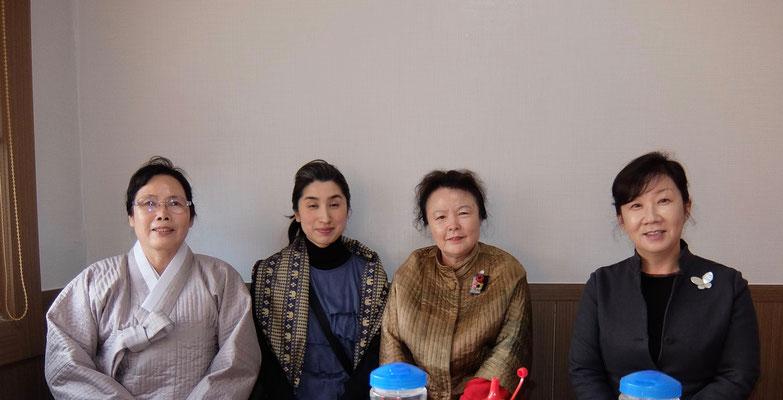 茶道雅流宗家夫人を囲み 松島で海鮮料理